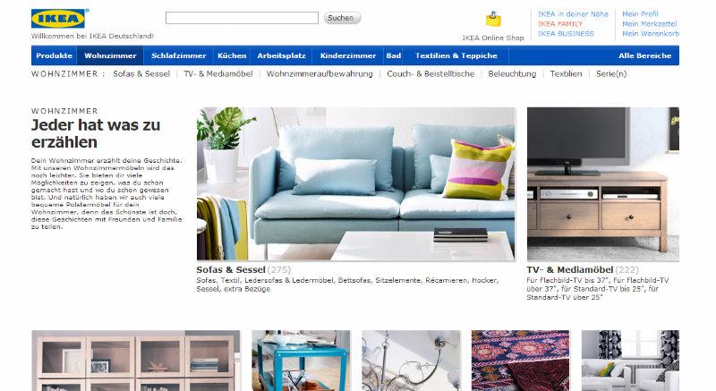 Ikea Einstiegsseite Wohnzimmer