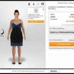 Metail Avatar bei Zalando