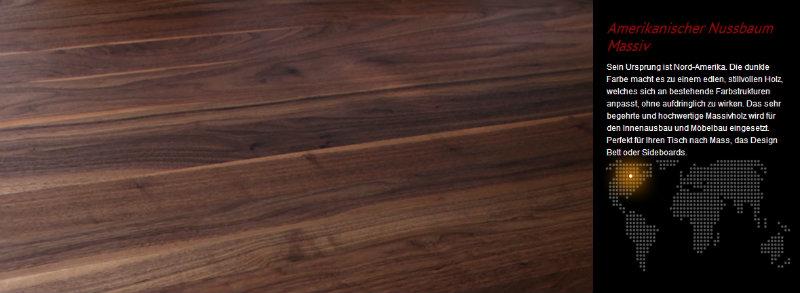Woonio Beschreibung Nussbaum Holz