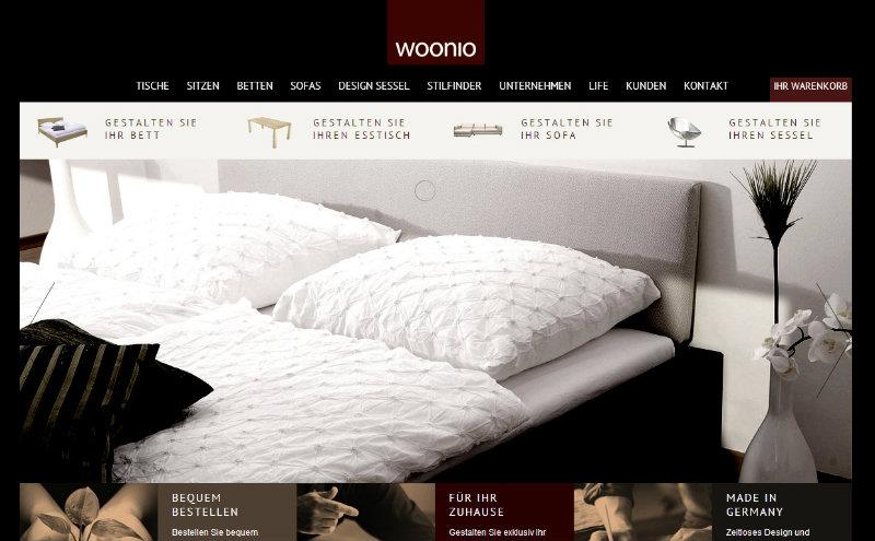 Woonio Startseite